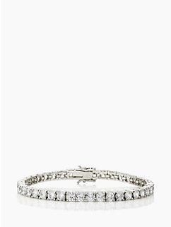 brilliant cut make an entrance tennis bracelet by kate spade new york