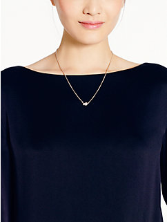 sailor's knot pave pendant by kate spade new york