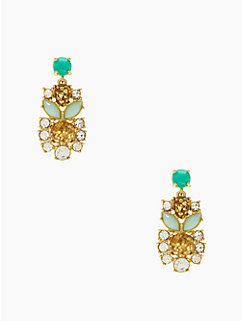 showgirl gems statement earrings by kate spade new york
