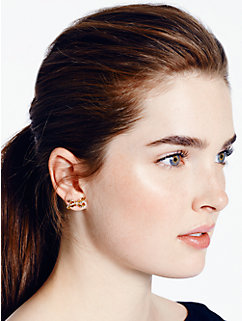 tied up pave studs by kate spade new york
