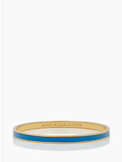 head in the clouds idiom bangle by kate spade new york