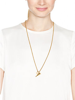 telescope charm necklace by kate spade new york