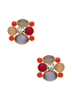 bashful blossom statement studs by kate spade new york