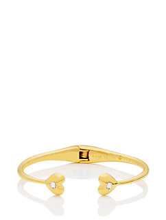 dainty sparklers heart cuff by kate spade new york