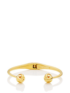 dainty sparklers knot cuff by kate spade new york