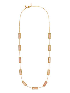 madison ave. catch a spark long scatter necklace by kate spade new york
