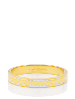 play cupid hinged idiom bangle by kate spade new york