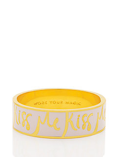 work your magic hinged idiom bangle by kate spade new york