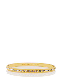 all that glitters idiom bangle by kate spade new york