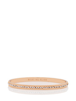 make me blush idiom bangle by kate spade new york