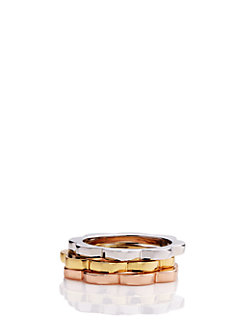 sweetheart scallops ring set by kate spade new york
