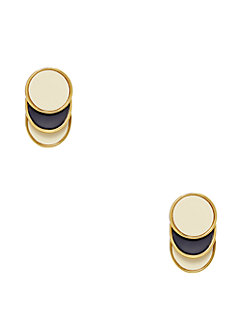 sweetheart scallops studs by kate spade new york
