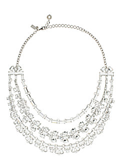 crystal garden statement necklace by kate spade new york