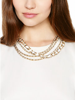 draped jewels multi strand necklace by kate spade new york