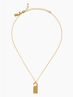 privacy please do not disturb pendant by kate spade new york