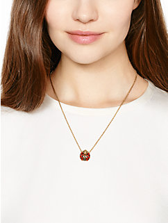 little ladybug mini pendant by kate spade new york