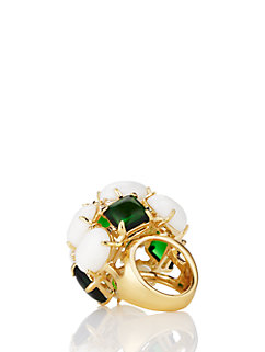 madison ave. collection magnolia garden gems statement ring by kate spade new york