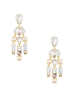 twinkling fete chandelier earrings by kate spade new york