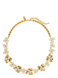 pansy blossoms necklace by kate spade new york