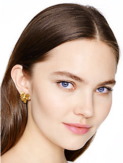 pansy blossoms studs by kate spade new york