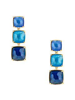 madison ave. collection swan dive statement earrings by kate spade new york