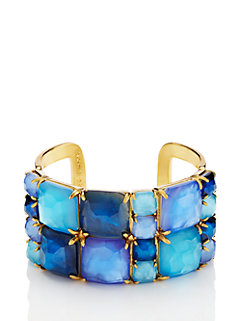 madison ave. collection swan dive wide cuff by kate spade new york