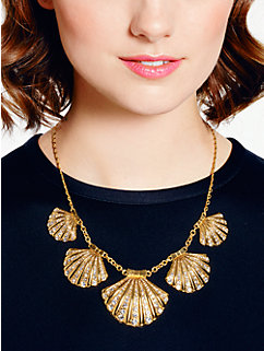 shore thing clam collar necklace by kate spade new york