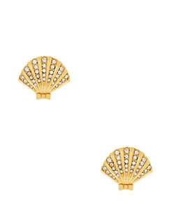shore thing clam studs by kate spade new york