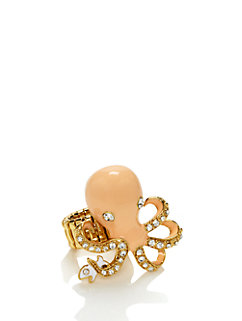 shore thing octopus ring by kate spade new york