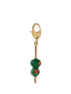 martini olives charm by kate spade new york