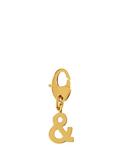 ampersand charm by kate spade new york