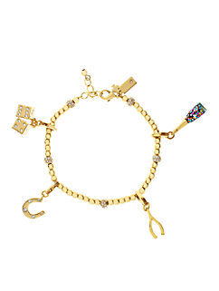 champagne bottle charm by kate spade new york