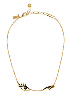 kiss and make up wink necklace by kate spade new york