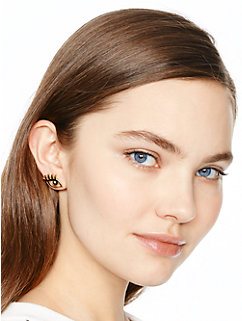 kiss and make up wink studs by kate spade new york