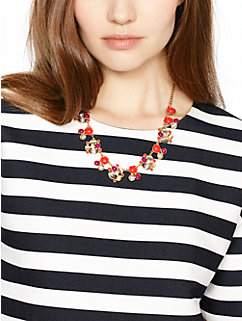 bashful blossom necklace by kate spade new york