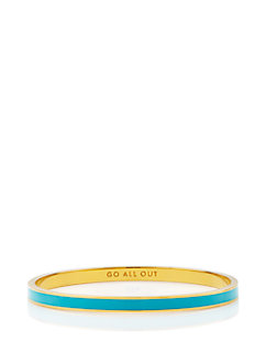 go all out idiom bangle by kate spade new york