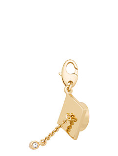 graduation hat charm by kate spade new york