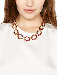 garden bed gems collar necklace by kate spade new york