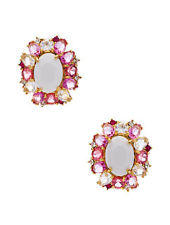 garden bed gems statement studs by kate spade new york