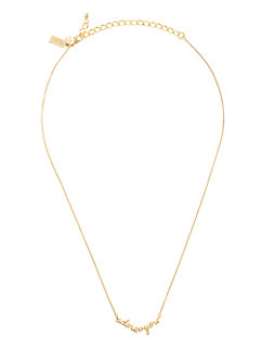 say yes adore you necklace by kate spade new york