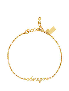 say yes adore you solitaire bracelet by kate spade new york