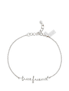 say yes true friend solitaire bracelet by kate spade new york