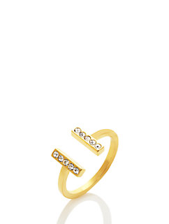 dainty sparklers bar ring by kate spade new york