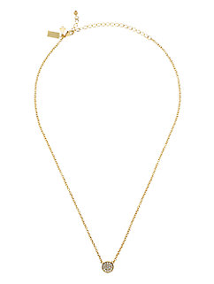dainty sparklers pave disc pendant by kate spade new york