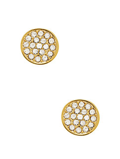 dainty sparklers pave disc studs by kate spade new york