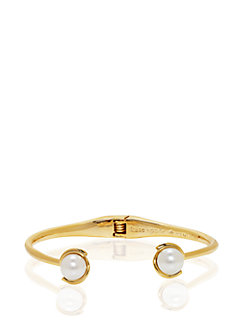 dainty sparklers pearl cuff by kate spade new york