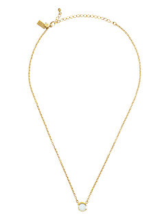 dainty sparklers pearl pendant by kate spade new york