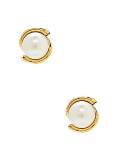 dainty sparklers pearl studs by kate spade new york