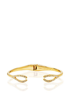 dainty sparklers wishbone cuff by kate spade new york