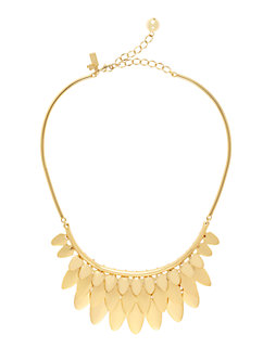 fancy flock collar necklace by kate spade new york